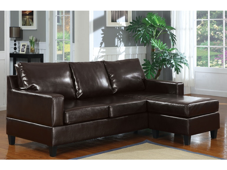 Acme Furniture Living Room Vogue Sectional Sofa - Fulton Stores .