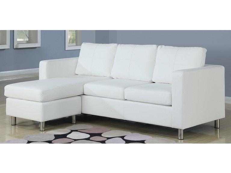 Acme Furniture Living Room Kemen Sectional Sofa - Fulton Stores .