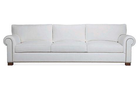 Jamaica II Sofa - White Linen - Ralph Lauren Home | Sofa, Linen .