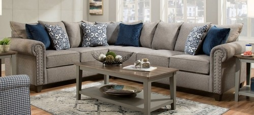 The Emma Slate Sectional available at Crazy Joe's Furniture and .