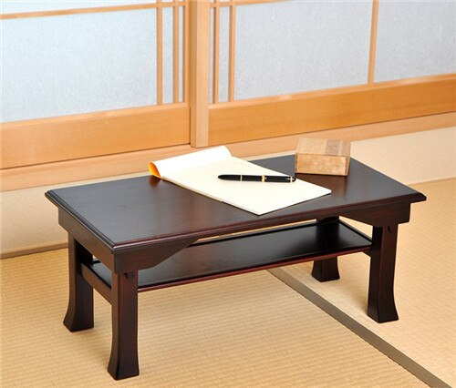 Japanese Style Desk Folding Leg 75*35cm Rectangle Asian Antique .