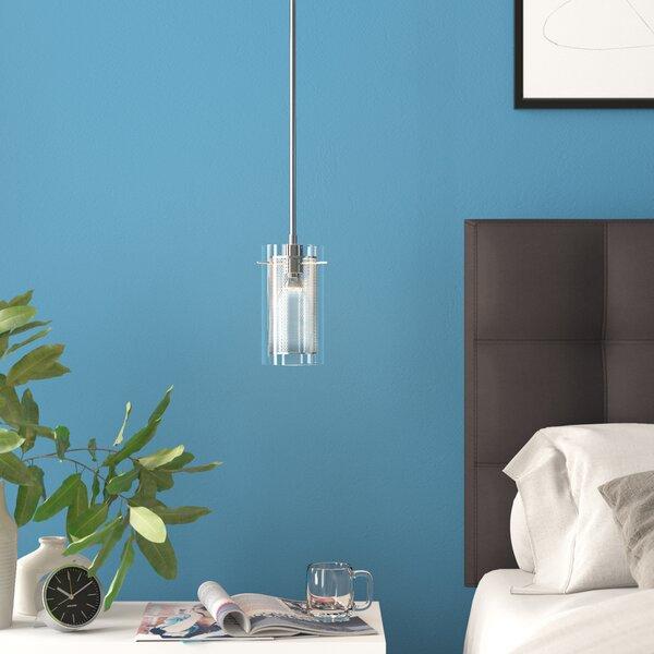 Zipcode Design Bakersfield 1-Light Cylinder Pendant & Reviews .