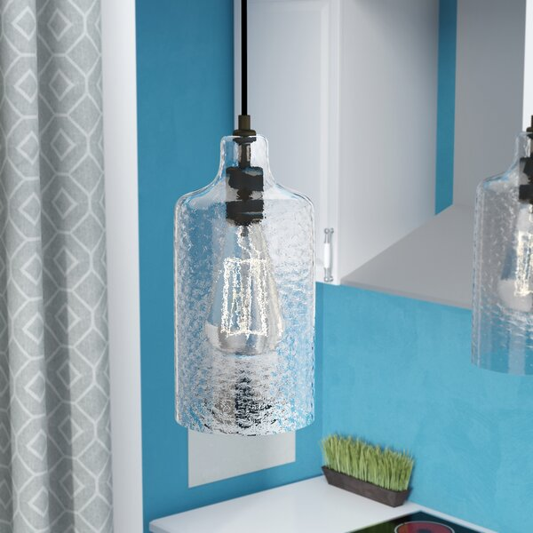 Langley Street Jayce 1 - Light Single Cylinder Pendant & Reviews .
