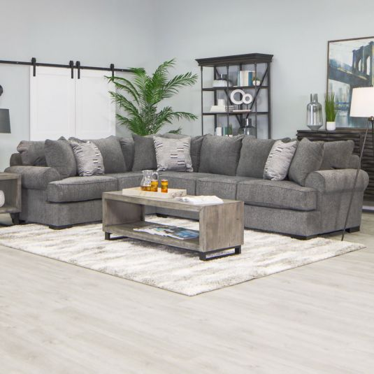 Pearson Sectional | Grey Corner Sectional | Jerome