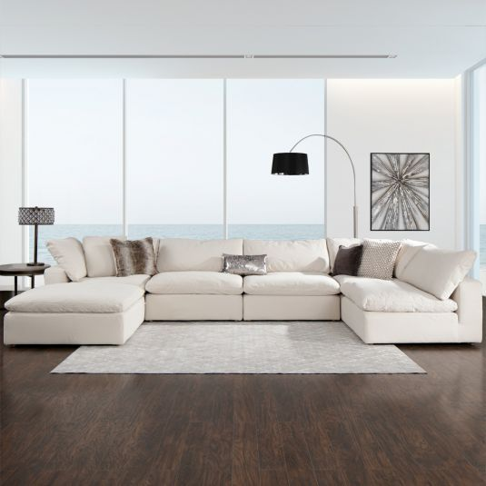 Jerome's Furniture offers the The Reserve Sectional - Tan at the .