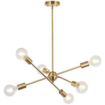 Johanne 6 Light Sputnik Chandeliers
