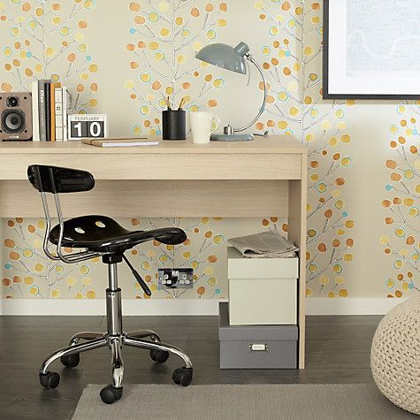 John Lewis The Basics Dexter Office Desk | Office desk, Desk .