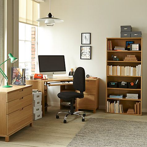 John Lewis & Partners Abacus Corner Desks, FSC-Certified .