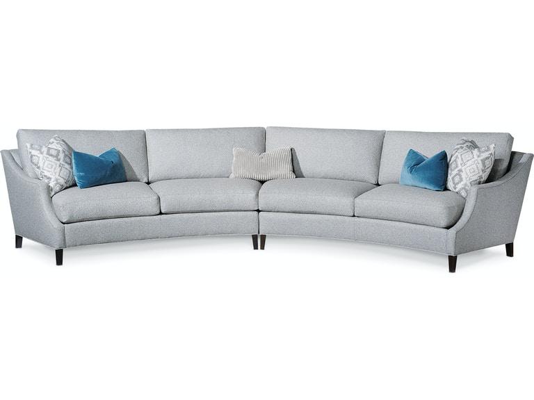 Taylor King Living Room Quinn Sectional 5616-Sectional - Lenoir .