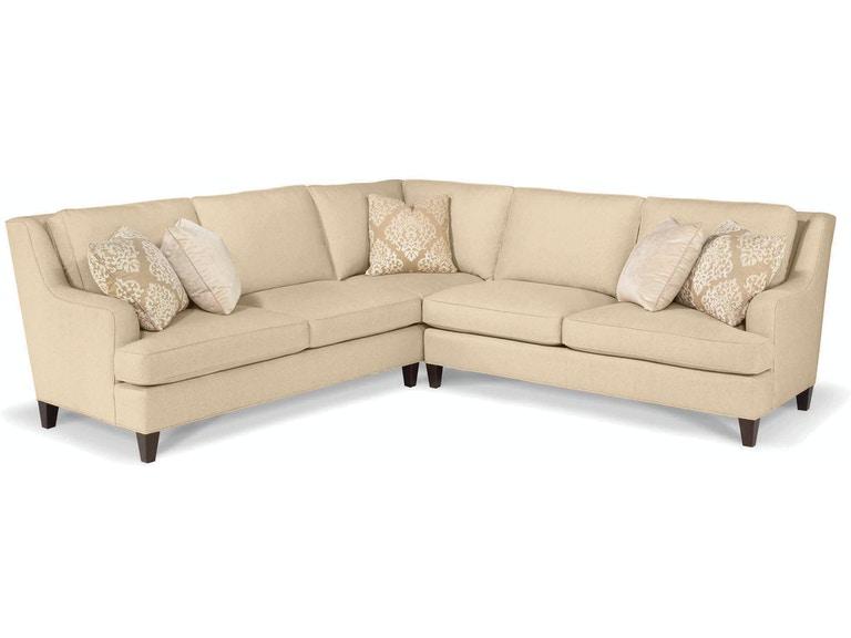 Taylor King Living Room Talulah Sectional 1037-Sectional - Lenoir .
