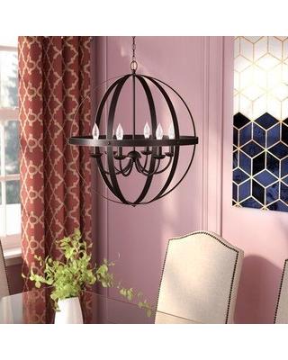 Joon 6 Light Globe Chandeliers