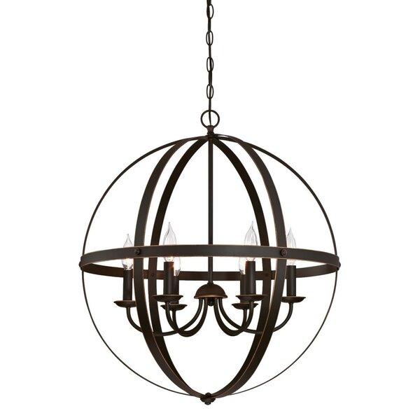 Joon 6 - Light Candle Style Globe Chandelier & Reviews   Joss & Ma