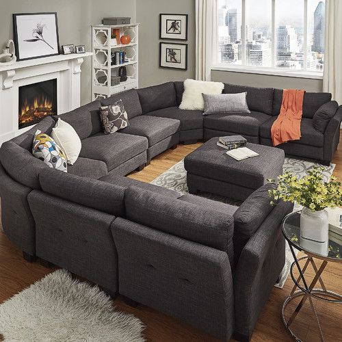 Found it at Joss & Main - Nolan Reversible Chaise Sectional .