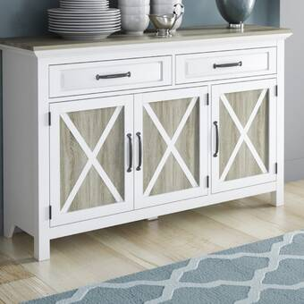 "Rosdorf Park Joyner 56"" Wide 2 Drawer Sideboard & Reviews 