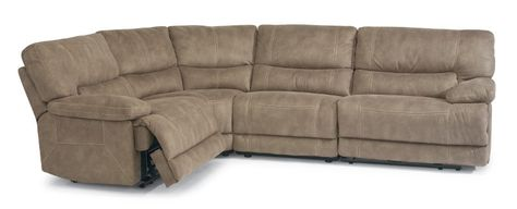 Pasadena - Reclining Sectional - 1458 Sectionals from Flexsteel at .
