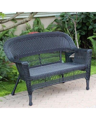 The Best Sales for Ophelia & Co. Karan Wicker Patio Loveseat .