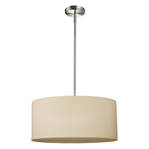 Mack & Milo Kasey 1-Light Single Drum Pendant & Reviews | Wayfa