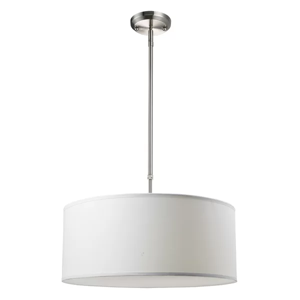 Kasey 3 Light Single Drum Pendants