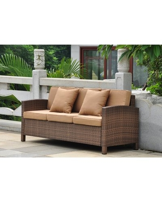 Find Savings on Katzer Patio Sofa with Cushions Brayden Studio .