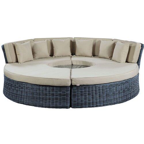 Brayden Studio® Keiran Daybed with Cushions | Wayfa