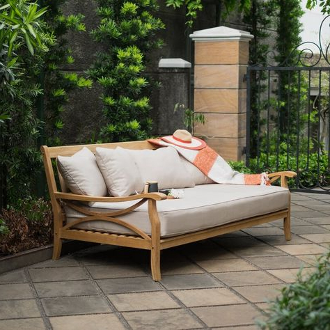 Gallery of Keiran Patio Daybeds With Cushions (View 15 of 20 Photo