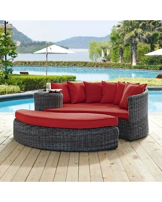 On Sale NOW! 45% Off Brayden Studio Keiran Patio Daybed with .