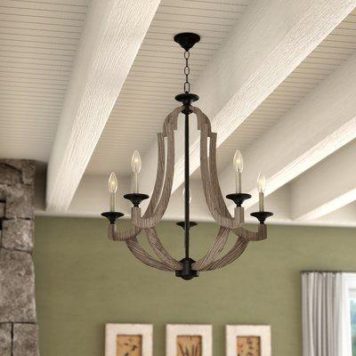 Kenna 5 - Light Empire Chandelier | Empire chandelier, Farmhouse .