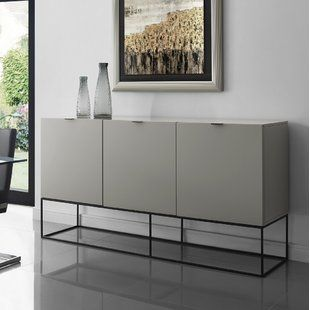 Orren Ellis Kieth 4 Door Credenza | Wayfair | Buffet table .