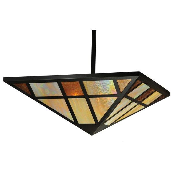 Millwood Pines Kimsey 4 - Light Single Geometric Pendant | Wayfa