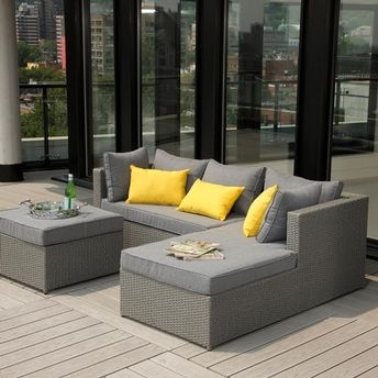 Kingston sectional | Club Piscine | Patio furniture, Furniture .