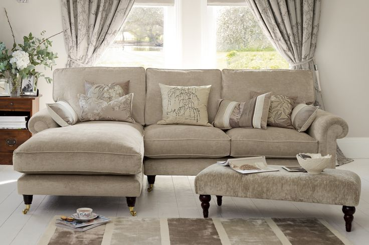 "laura ashley - ""Kingston"" Sectional Sofa … 