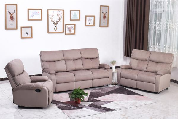 Good Quality, Affordable Sofa Sectional - Linen-Style Fabric .