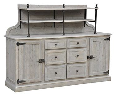 Furniture in Knoxville - Rustic Furniture - Sideboard - Braden's .