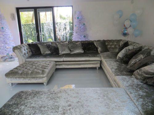 Crushed-Velvet-Corner-Sofa-L-Shape-Sofa-U-Shape-Sofa-Designer .