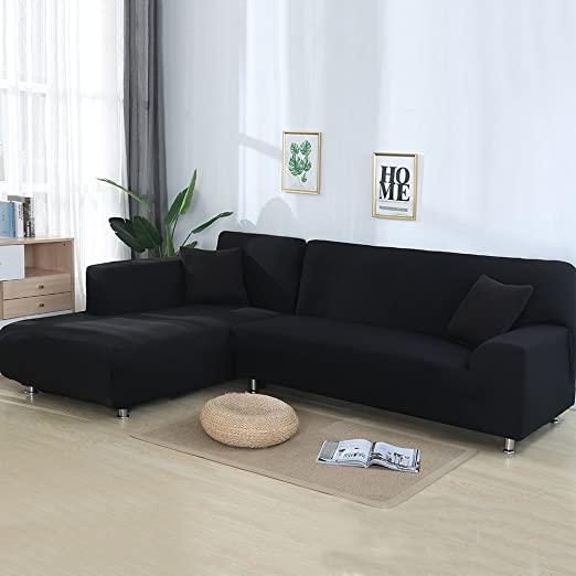 Amazon.com: cjc Premium Quality Sectional Corner L-Shaped Sofa .