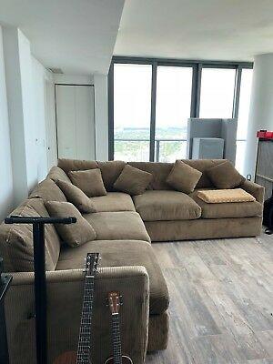 Large L Shaped Sofa | eB