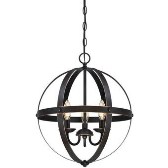 La Barge 3 - Light Lantern Globe Chandelier & Reviews | Joss & Ma