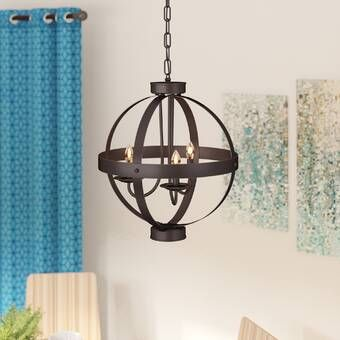 Jacksonport Unique / Statement Geometric Chandelier in 2020 .