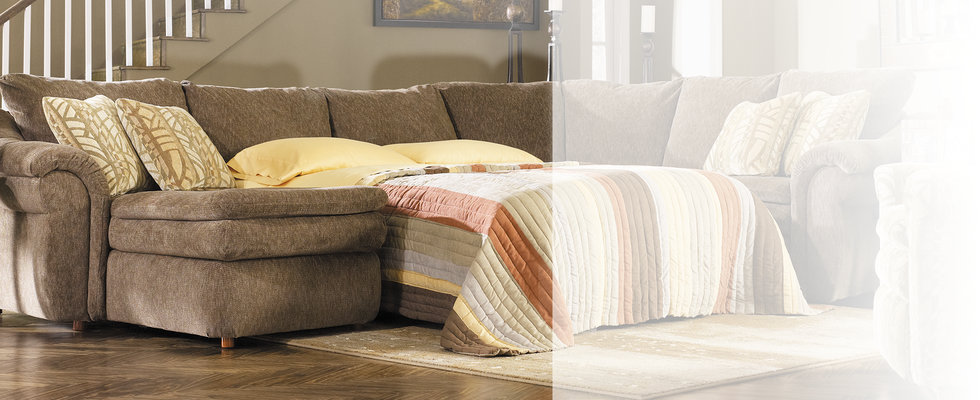 Sectional Sleeper Sofas & Sleeper Sectionals | La-Z-B