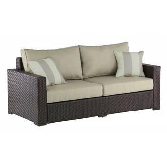 Serta at Home Laguna Outdoor Sofa with Cushions & Reviews | Wayfa