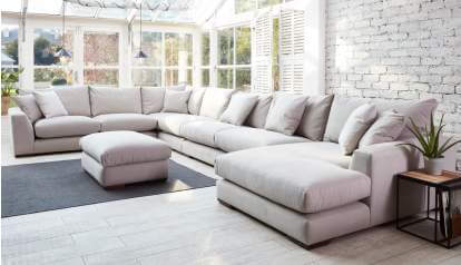 Kingston Large U-Shaped Sofa | Sofas | Darlings of Chels