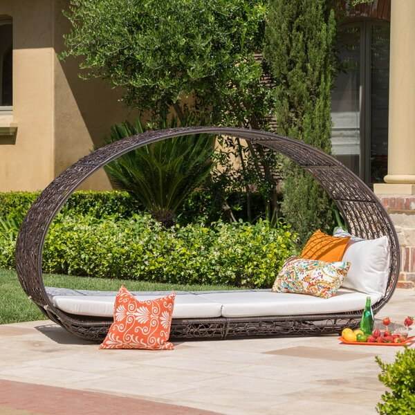 Lavina Outdoor Patio Daybed with Cushions & Reviews | Joss & Ma