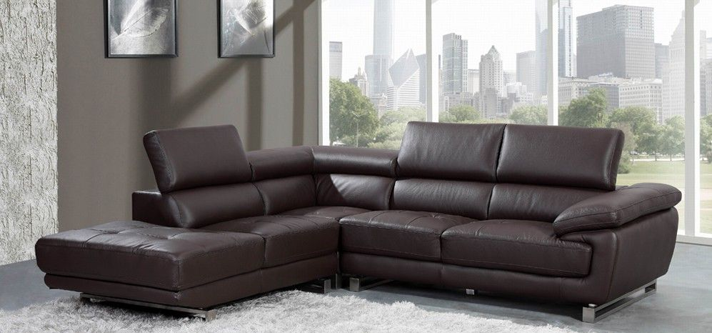 The different options in brown leather corner sofa | Leather .