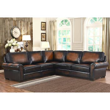 Brown Leather Sectional Sofas | Cost