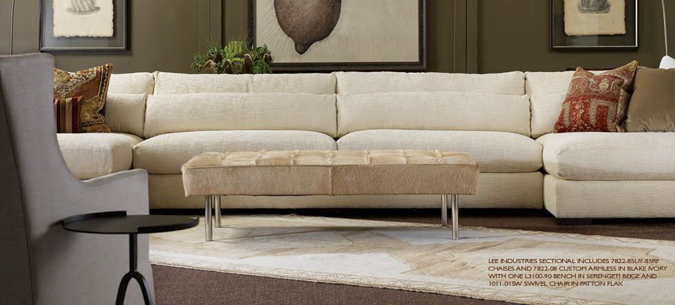 7822 sectional by Lee | Lee industries sectional, Furniture, Lee .