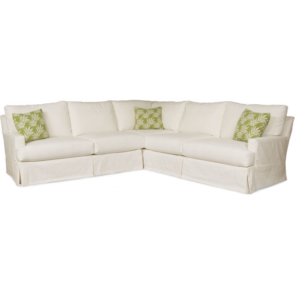 C3972-Series Slipcovered Sectional Series at Lee Industri