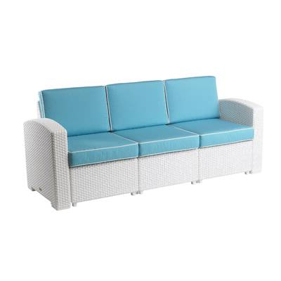 Photos of Loggins Patio Sofas With Cushions (Showing 9 of 21 Photo