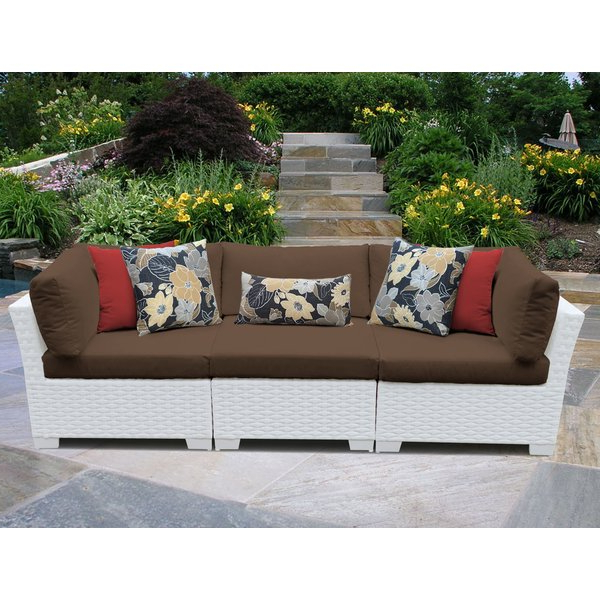 Loggins Patio Sofas With Cushions