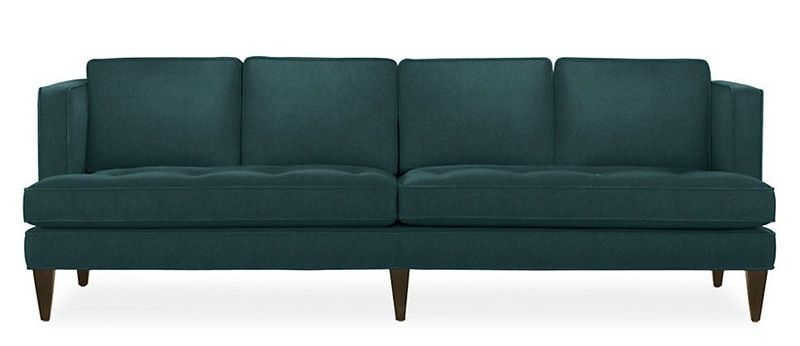 Supersized Style: Extra Long Sofas | Custom sofa, Custom modern .