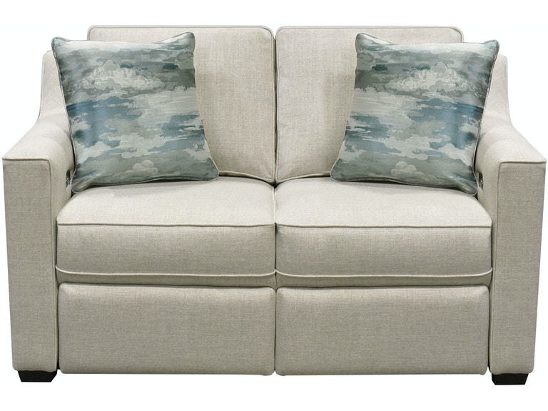 England Living Room Quentin Loveseat with Power Ottoman 8Q00-03 .